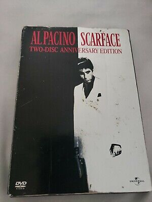 AL PACINO SCARFACE DVD Pre-owned