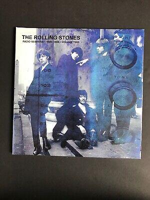 Rolling Stones Radio Sessions Vol 2 2x LP 1964-1965 Blue Vinyl STONES2LP2