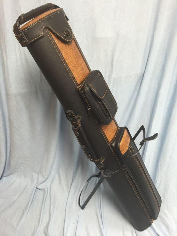 J&J Stand Cue Case 3 Butt 5 Shaft 3x5 PC35X-4 Very Popular Case !!