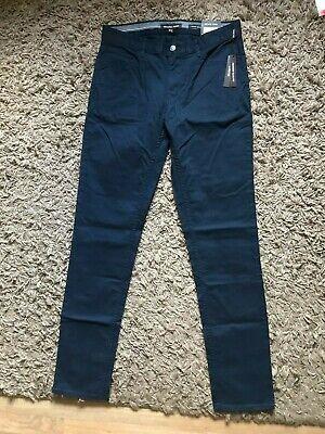 Michael Kors Parker Slim Fit Stretch Mens Jeans (Blue) W30 L34 -...