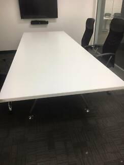 Custom Built Boardroom Table