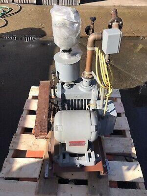 Kinney Vacuum Pump Pressure Chamber Doerr 3 Phase Alternating Current Motor
