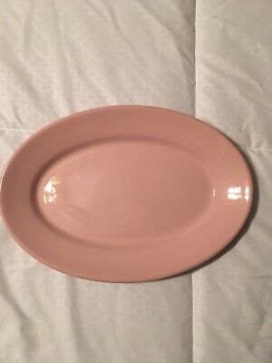 Shell Pink By Sterling Vintage Oval Plate