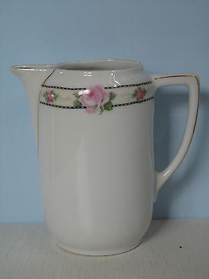 Antik Milchkännchen Rosen romantisch Jugendstil Porzellan Shabby Sahnegießer