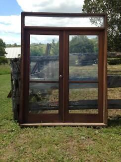 Matching Antique Cedar Door & Window Frames- 11 in total East Gresford Dungog Area Preview