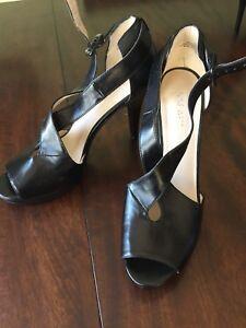 Nine West peep toe heels Size 8.5 M