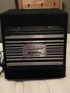 Subwoofer with 600w amplifier