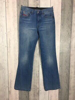 Vintage Coca-Cola Women's Blue Bootcut/Straight Jeans Size W30 L32