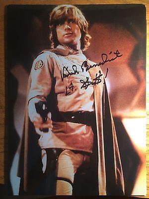 Rare  Dirk Benedict Autographed Battlestar Galactica Photo Starbuck