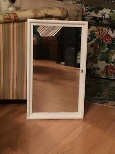 Mirrored Wall Mounted Jewellery Armoire