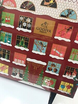 Godiva 2019 Christmas Chocolate Box Advent Calendar 24 Pieces Best Bu April 2020