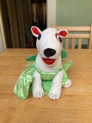 Target Plush Bullseye Dog In Green Fairy Tinkerbell Costume - Bullseye Dog Costume
