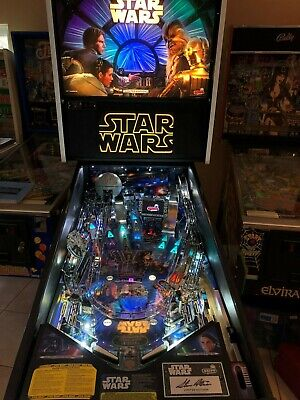 Stern Star WARS LE Pinball Machine  ONLY 800 MADE #742