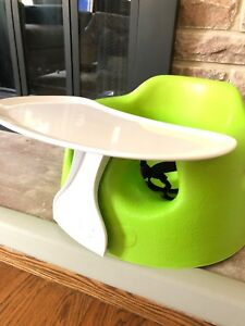Bumbo chair with table accessory mint condition