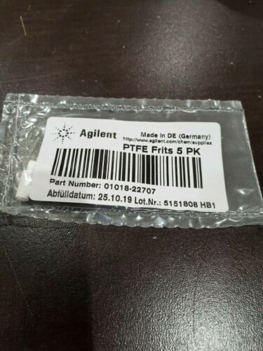 Agilent , PTFE Frits 5/pack, 01018-22707