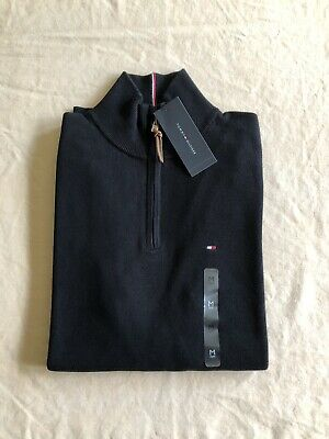 TOMMY HILFIGER Men's Black Sweater Size M