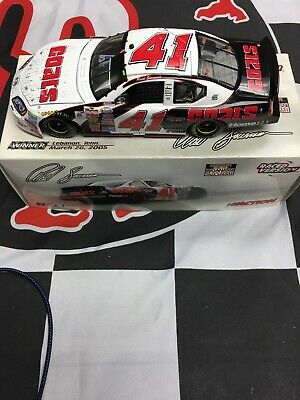 REED SORENSON 1:24 ACTION 2005#41 DISCOUNT TIRE/COATS NASHVILLE RACED WIN ROOKIE