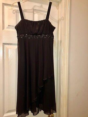 Black Sleevless Kids Dress Large - Childrens Black Dresses