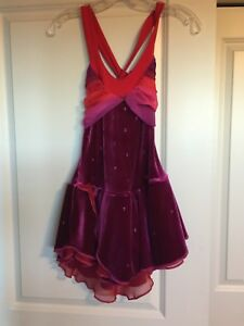 Beautiful assorted competition figure skating dress. Age 10-12