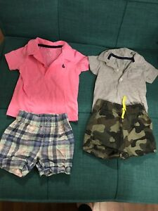 6-12 month boys summer clothes