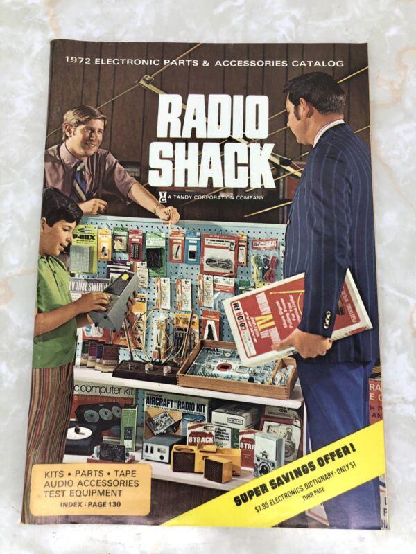 RADIO SHACK 1972 ELECTRONIC PARTS & ACCESSORIES CATALOG