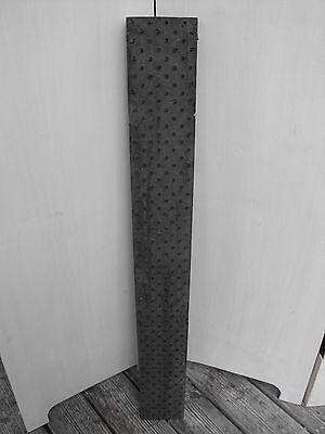 antikes XXL Stoff-Model Stoff-Stempel Druckstock Stoffdruck Blaudruck 93cm/294