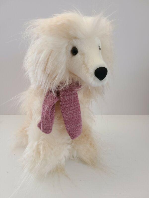 "Aurora Tan Afghan Winter Hound Plush Stuffed Animal Dog 10"" w/gift tag"