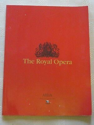 Royal Opera House Program / 16 FEB 1996 / AIDA / JAN LATHAM-KOENING