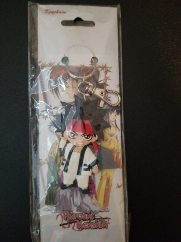 Rurouni Kenshin Sanosuke Keychain ANIPLEX  Rare!