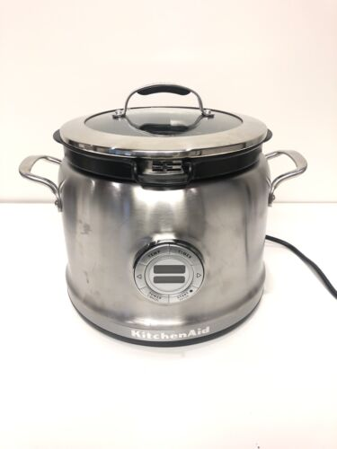 KitchenAid Multi-Cooker KMC4241SS 4-Qt All-inOne Cooking Sys