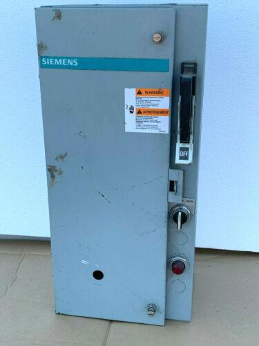 Siemens 17DP92BF81 Combination Heavy Duty Magnetic Motor Starter, NEMA Size 1