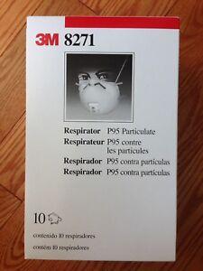 Respirator Mask - 3M P95 Particulates x10