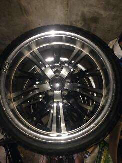 """Nissan 19"""" rims and tyres Ryde Ryde Area Preview"""