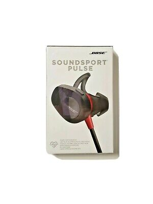 NEW Bose SoundSport Pulse Wireless Headphones w/Heart rate Sensor - Red Sealed