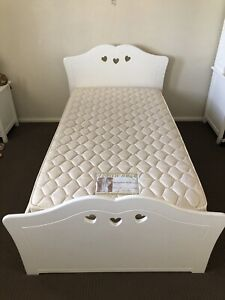 Bed,girls king single,paid $850 bargain $200with mattress