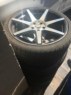 20inch rims - damaged