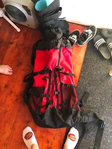 Travel duffel/backpack great for overseas and long trips