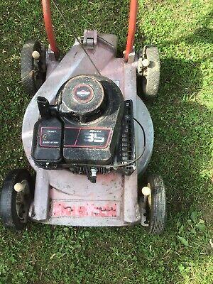Mountfield M4 Major Rough Cutter Petrol Push Type Lawnmower. No Grassbox