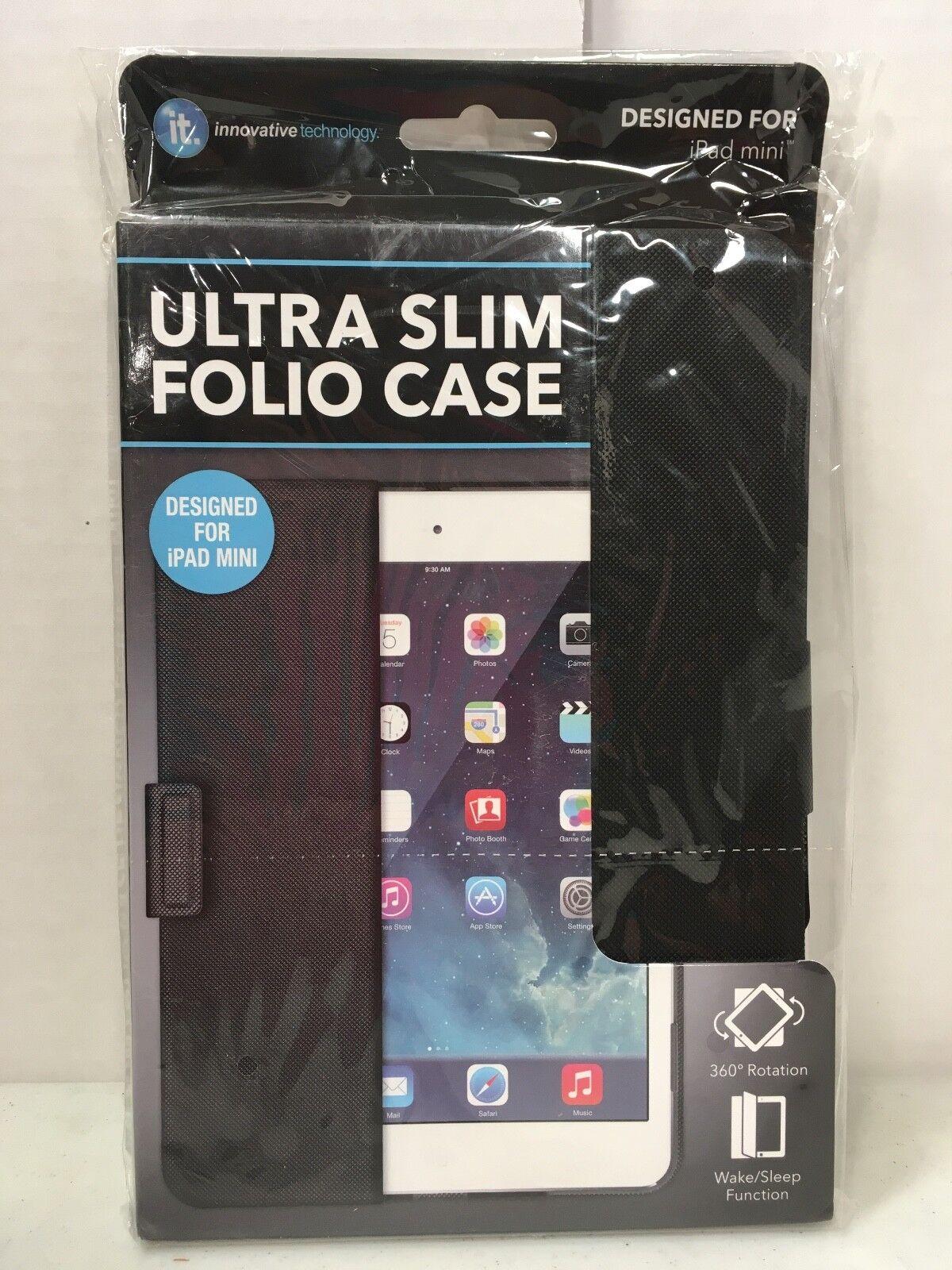 Folio Case Designed For iPad Mini IT Innovative Technology U