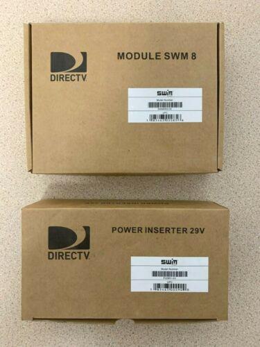 DIRECTV 8 Channel Module Multi-Switch SWM8R2-03 w/ PI29R1-03 29V Power Inserter