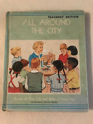 ALL AROUND THE CITY, TEACHERS EDITION, STORES LIFE & TALES LONG AGO, HC 1969,CA](The Teachers Store)