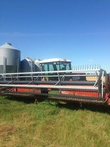 Hesston 8100 swather