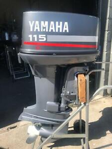 115hp Yamaha CV outboard Southport Gold Coast City Preview