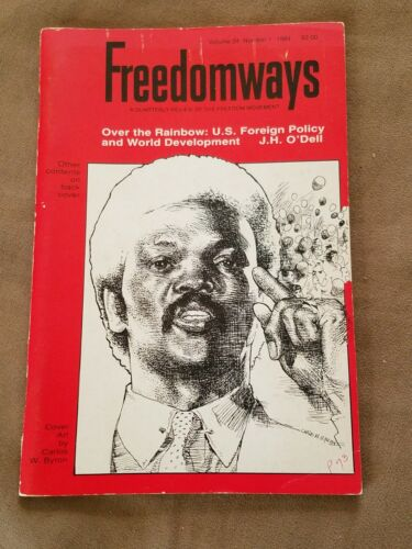 FREEDOMWAYS Vol.24, No.1 Quarterly Review of the Negro Freedom Movement