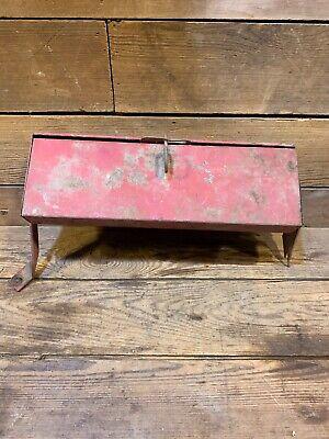 International Farmall Tractor Toolbox 706 806 1206 Ih Ihc Part Original 766 Old