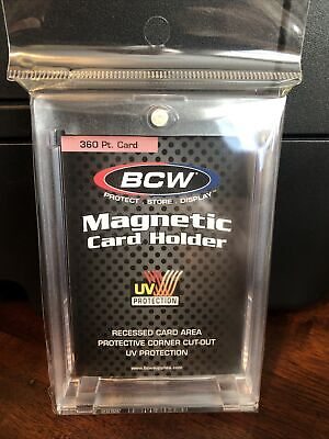 BCW One-Touch Thick Card 360pt Point Magnetic Card Holder UV Protection