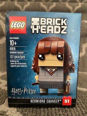 Lego BrickHeadz Harry Potter Hermione Granger 41616 Brand New Factory Sealed