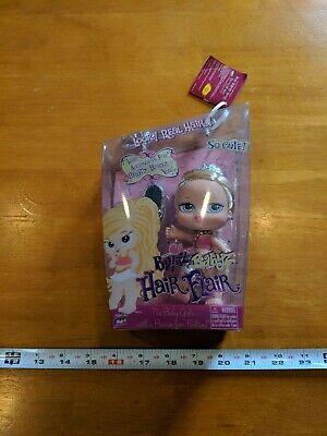 "New Sealed Bratz Babyz Cloe Hair Flair NRFB Doll 5"" With Ties Tiara Brush NRFB"
