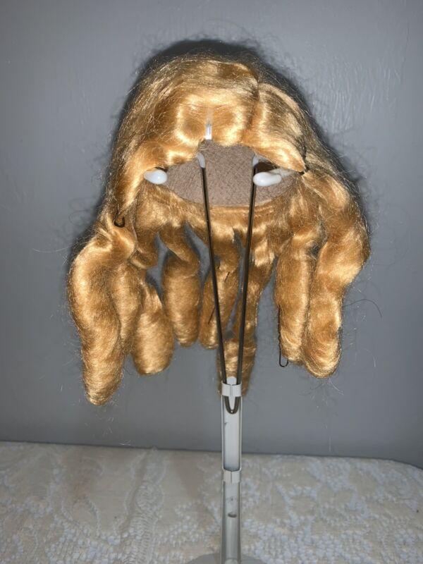 Antique/Vintage Blonde Wig for Antique Doll