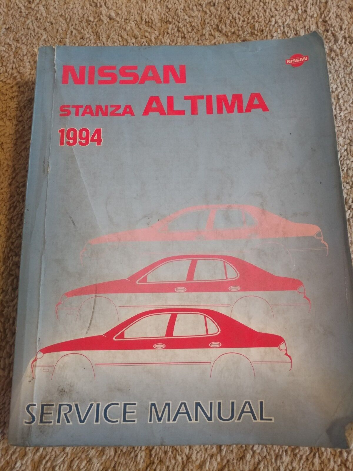 1994 Nissan Stanza Altima Service Repair Manual OEM